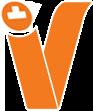 לוגו כתום של חברת ויקטורי